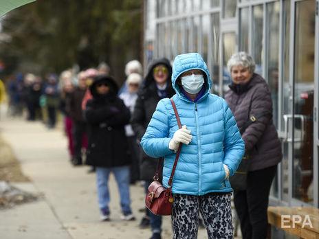 США вышли на третье место в мире по количеству заразившихся коронавирусом