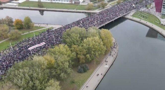 В Беларуси на протестах задержали почти 300 человек